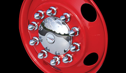 Front Baby Moon with Lug Nuts