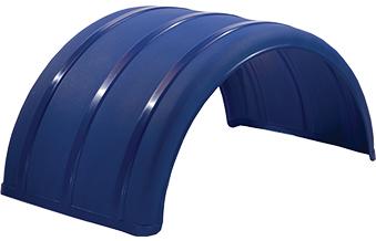 "Blue 25"" Single Arch Poly Fender"