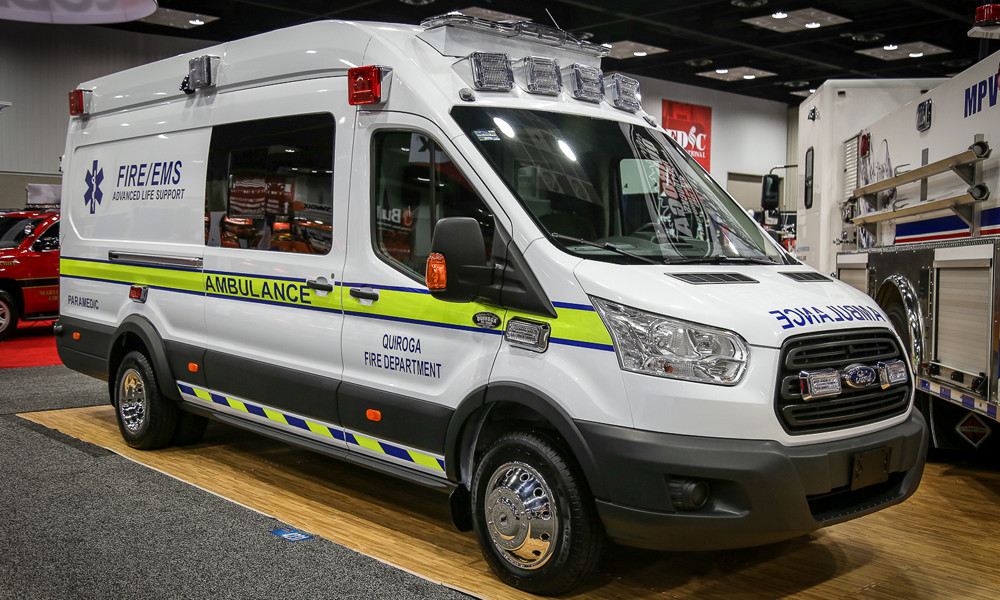 Ambulance with Sprinter Covers