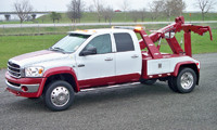 Tow Truck with Cover-up Axle Covers