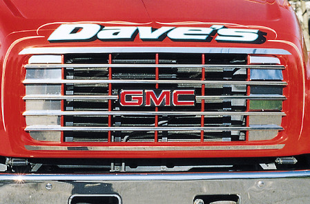 GMC Deluxe Grille 1999-2002