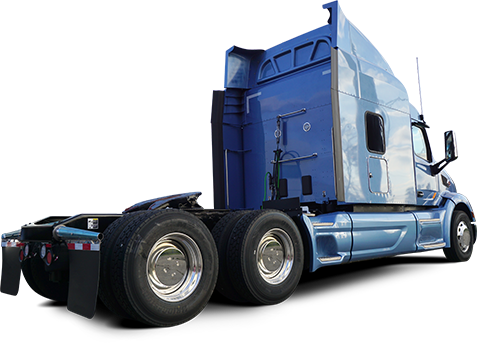 Semi with Front & Rear HubShield