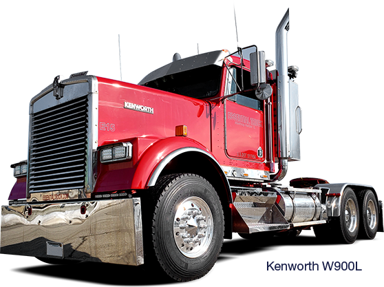 Kenworth W900L with Fenderettes (Fender Flare)