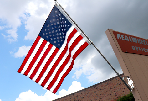 """Liberty"" Building Flag Pole System"