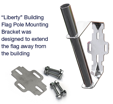 Liberty Building Flag Pole Mounting Bracket
