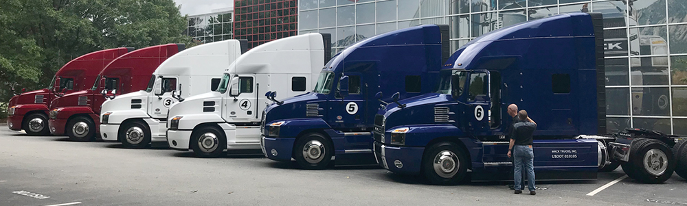 Mack Semi Fleet