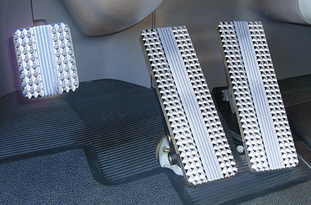 Kenworth Billet Pedals