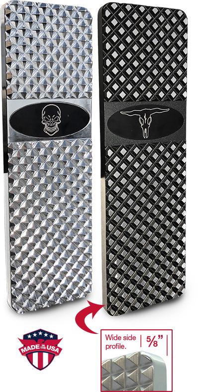 Peterbilt Custom Emblem Billet Pedals