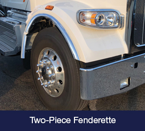 Peterbilt 567 Two-Piece Fenderette