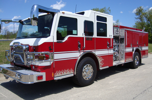Pierce Fire Truck