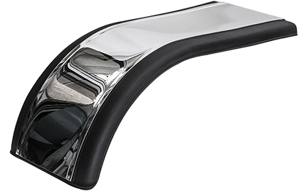 Prestige half tandem fender with mirror finish stainless steel