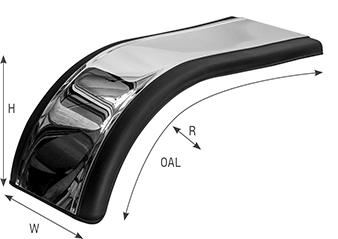 Prestige Half Tandem Fender Specs