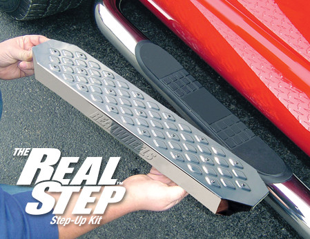 The RealStep Step-Up Kit
