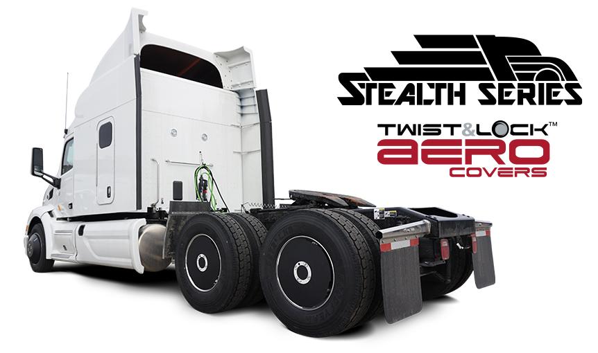 Stealth Series Twist & Lock Aerodynamic Covers