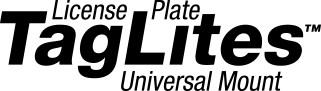 License Plate TagLites Universal Mount