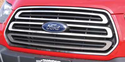 Ford Transit Grille Overlay