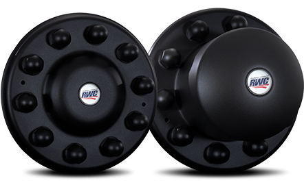 Stealth Series Unitized Cover-Up Hub Covers